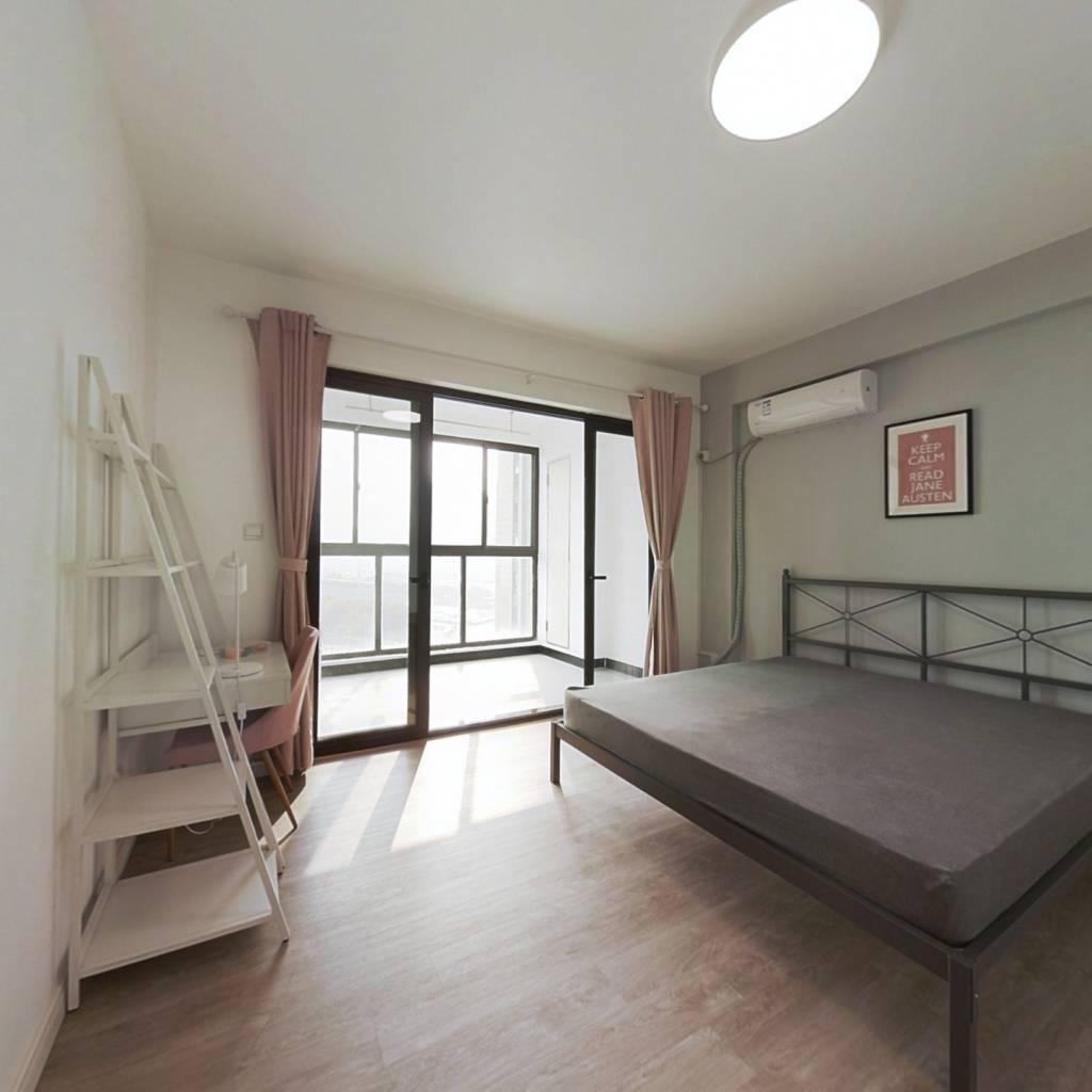 合租·保利香槟国际 4室2厅 北卧室图