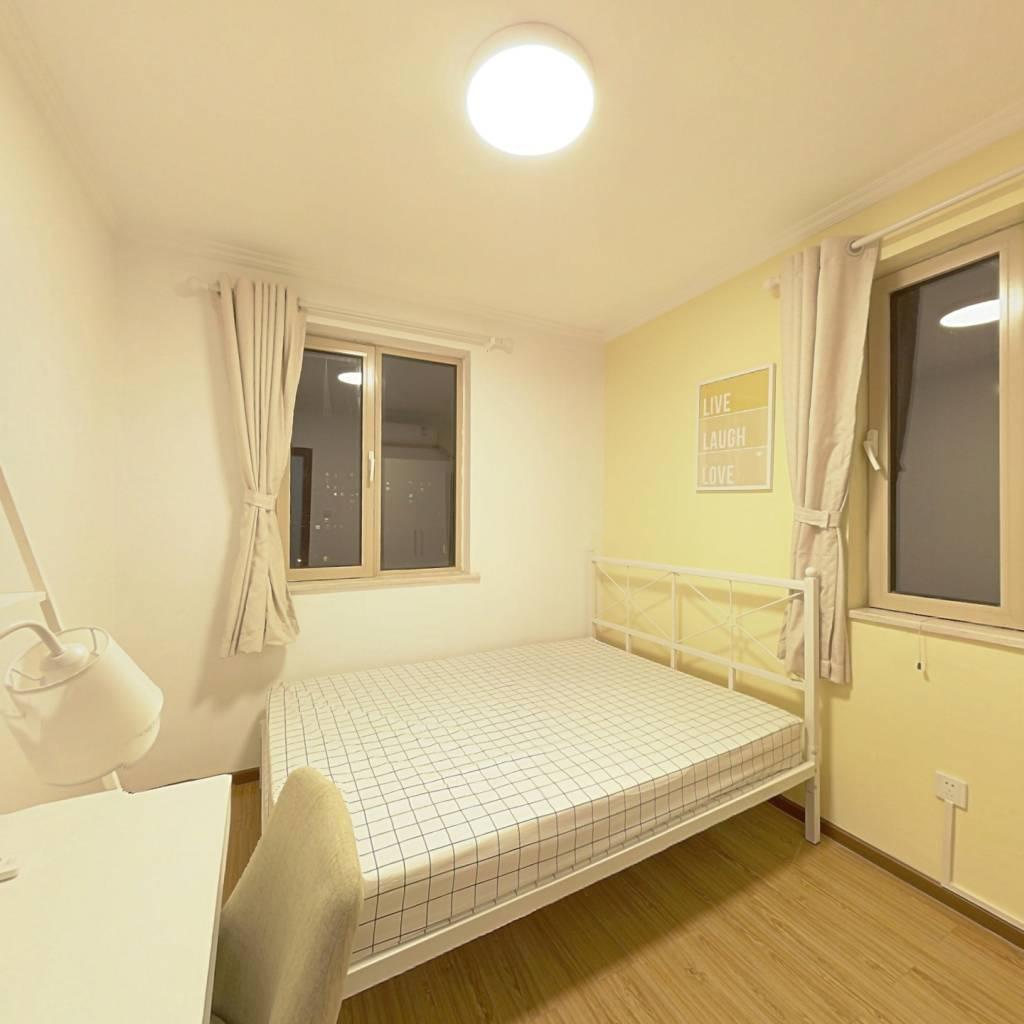 合租·远洋一方润园2号院 4室1厅 南卧室图