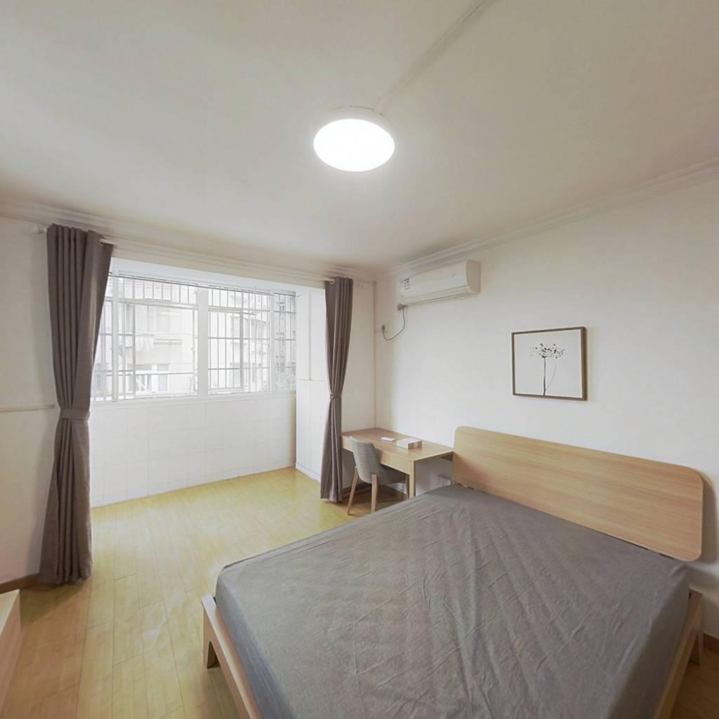 整租·民星二村 1室1厅 西卧室图