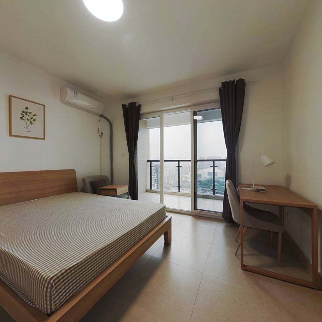 合租·望江华庭 3室1厅 东卧室图