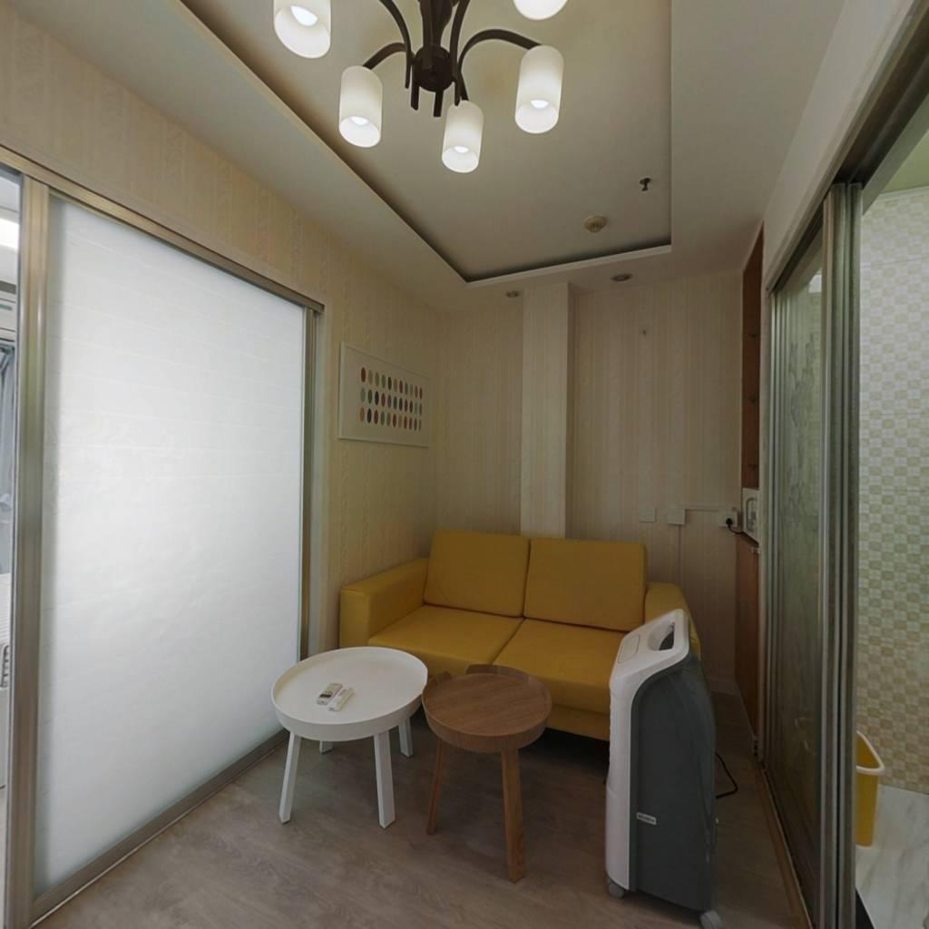 整租·御湖国际 1室1厅 东南卧室图